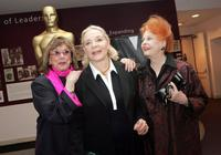 Phyllis Newman, Lauren Bacall and Arlene Dahl at the special screening of