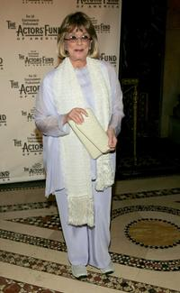 Phyllis Newman at the Actors Fund of America
