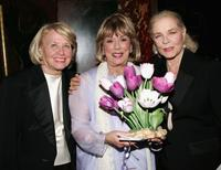 Liz Smith, Phyllis Newman and Lauren Bacall at the Actors Fund