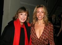 Phyllis Newman and Amanda Green at the 20th Anniversary party of the Musical Theatre Works Concert