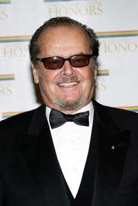 Jack Nicholson at the 27th Annual Kennedy Center Honors.