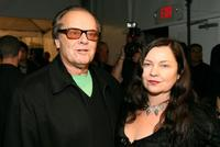 Jack Nicholson and Jennifer Nicholson at the Mercedes Benz Fashion Week.