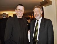 Leonard Nimoy and George Zimmer at the Hyatt Regency in San Francisco.