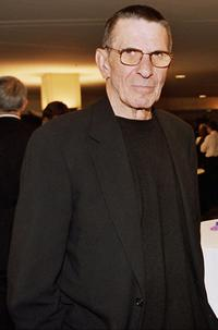 Leonard Nimoy at the Hyatt Regency in San Francisco.