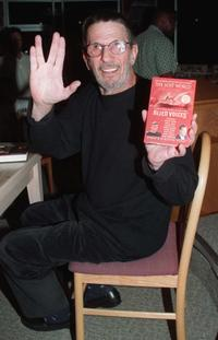 Leonard Nimoy at the signing of