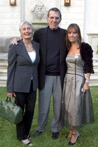 Leonard Nimoy, wife Susan Nimoy and Julia Sorkinat the 7th Annual Express Yourself chairty event.