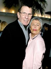 Leonard Nimoy, wife Susan Nimoy at the 3rd Annual 'Backstage at the Geffen' Gala Fundraiser.