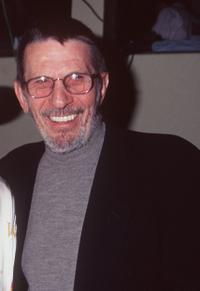 Leonard Nimoy at the 7th Annual Hollywood charity horse show.