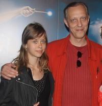 Aghata Novembre and Tom Novembre at the premiere of