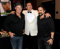 Corbin Bernsen, Bruce Campbell and Tom Savini at the Fangoria Trinity of Terrors Festival.