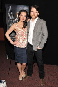 Christian Campbell and Guest at the premiere of