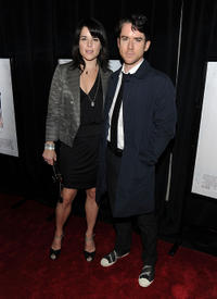 Neve Campbell and Christian Campbell at the New York premiere of