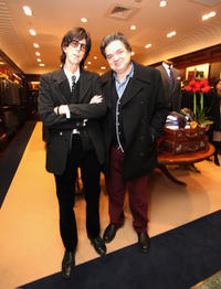 Ric Ocasek and Oliver Platt at the Brooks Brothers Hosts Seventh Annual Holiday Celebration To Benefit St Jude Children's Research Hospital.