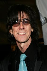 Ric Ocasek at the Michon Schur Fall 2007 fashion show during the Mercedes-Benz Fashion Week.