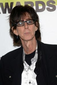 Ric Ocasek at the MTVU Woodie Awards.