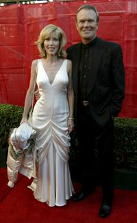 Glen Campbell and wife Kim at the 31st Annual American Music Awards.