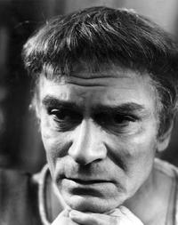 Sir Laurence Olivier picture taken in London Chichester Theatre for the film