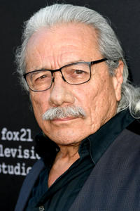 Edward James Olmos at the premiere of FX's