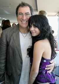 Kenny Ortega and Vanessa Hudgens at the photocall of