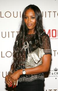 Naomi Campbell at the Murakami Gala an event honoring fashion designer Marc Jacobs.