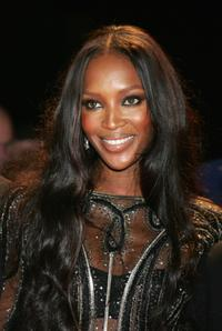 Naomi Campbell at the Swarovski Fashion Rocks concert.