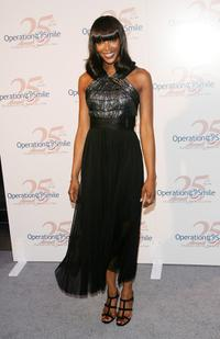 Naomi Campbell at the Operation Smile 25th Anniversary benefit gala.