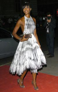 Naomi Campbell at the GQ Men of the Year Awards.