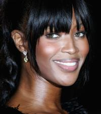 Naomi Campbell at the Moet and Chandon