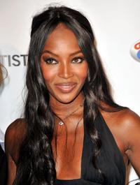 Naomi Campbell at the US Doctors for Africa honoring the First Ladies of Africa Gala.