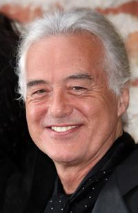 Jimmy Page at the California premiere of