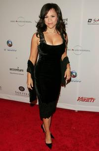 Rosie Perez at the 34th International Emmy Awards Gala.