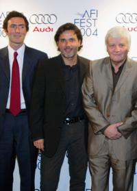 Producer Nicolas Mauvernay, Director Christophe Barratier and Jacques Perrin at the premiere of