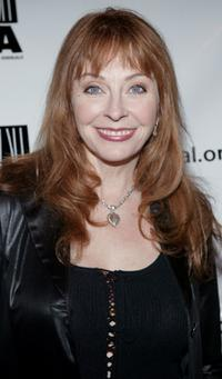 Cassandra Peterson at the Last Chance for Animals fundraiser party.