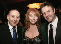 Paul Reubens, Cassandra Peterson and David Arquette at the after party of