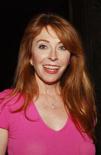 Cassandra Peterson at the opening night of