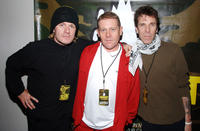Cult's Billy Duffy, Dave Wakeling and Slim Jim Phantom at the Love Hope Strength Foundation's charity concert in New York.