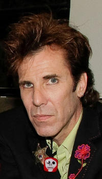 Slim Jim Phantom at the Jerry's 75th birthday concert in California.