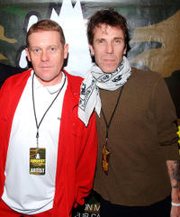 Dave Wakeling and Slim Jim Phantom at the Love Hope Strength Foundation's charity concert in New York.