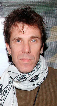 Slim Jim Phantom at the Love Hope Strength Foundation's charity concert in New York.