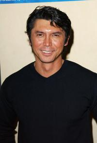Lou Diamond Phillips at the Celebrities and Pros Match Skills As World Poker Tour Hits Los Angeles.