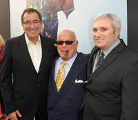 Director Kenny Ortega, co-producer Frank DiLeo and Randy Phillips at the California premiere of