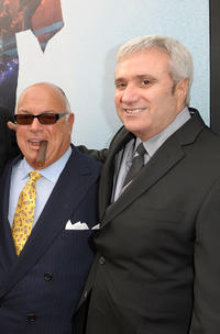 Co-producer Frank DiLeo and Randy Phillips at the California premiere of