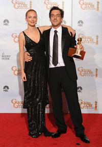 Heather Graham and Todd Phillips at the 67th Annual Golden Globe Awards.