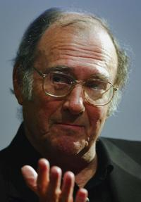 Harold Pinter at the Orange Word Screenwriters Programme.