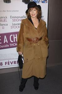 Marie-France Pisier at the premiere of