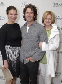 Jeanne Tripplehorn, Leland Orser and Mary Kay Place at the Gersh Agency pre-Emmy party.