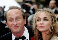 Benoit Poelvoorde and Emmanuelle Beart at the 57th Cannes International Film Festival.