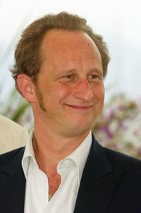 Benoit Poelvoorde at the 57th Annual Cannes Film Festival.