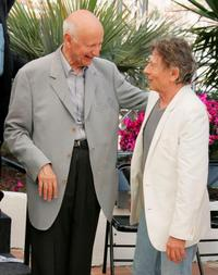 Roman Polanski and President Gilles Jacob at the photocall of
