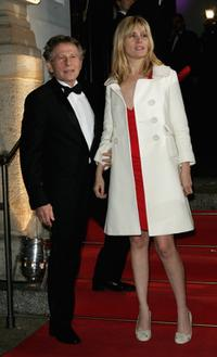 Roman Polanski and Emmanuelle Seigner at the Berlin premiere of